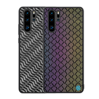 NILLKIN Woven Polyester Mesh Reflective Anti-fingerprint Protective Case for HUAWEI P30 Pro 2019
