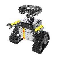 Mofun DIY Stainless Steel RC Robot Sliding Block Building Assembled Robot Toy