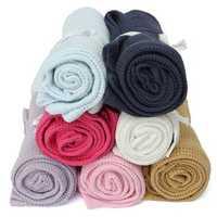 Cotton Baby Cellular Soft Sleeping Blanket Pram Cot Bed Mosses Basket Crib