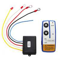 12V Electric Winch Wireless Remote Control System Switch For Truck Jeep ATV SUV