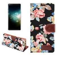 Bakeey Flower Cloth Card Slot Flip Protective Case for Samsung Galaxy Note 8/S8/S9 Plus/S7/S7 Edge
