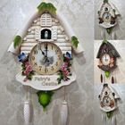 Les plus populaires Cute Large Birdcall Cuckoo House Wall Clock Home Kid Room Decor