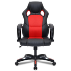 Promotion Bettor BTD-0401 Adjustable Leather Office Chair Ergonomic High-Back Gaming Chair Swivel Reclining Executive Padded Footrest Chair Breathable Chair Covers