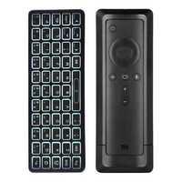 iPazzport KP-810-73B bluetooth Backlight Mini Wireless Keyboard for Xiaomi 4K Mi Box Remote Control