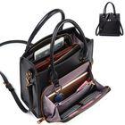 Meilleurs prix Brenice Women Solid Multifuction Handbag Work Crossbody Bag