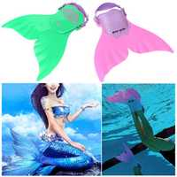New Mermaid Monofin Mono Fin Flippers Swimming Toy Mermaid Tails