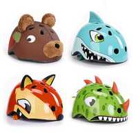 CORSA 54-58CM Children Cartoon Animal Cycling Safety Helmet Ultralight Roller Skating Bicycle Helmet