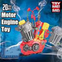 Children's Assembly Engine Puzzle Hands-On Motor Model Toy