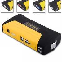 68800mAh 4 USB Car Jump Starter Emergency Charger Booster Power Bank Battery SOS