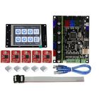 Bon prix TFT32 Full Color LCD Touch Screen + MKS-GEN L Mainboard with 5Pcs Red A4988 Driver 3D Printer Controller Board Kit