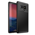 Good price Bakeey Protective Case For Samsung Galaxy Note 9 Slim Carbon Fiber Fingerprint Resistant Soft TPU Back Cover