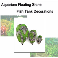 Fish Tank Decorations & Ornaments Resin Flying Stone Float Stone Aquarium Artificial Pumice Stone