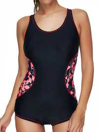 Seamless Professional Sports Cover Belly Padded Swimsuit