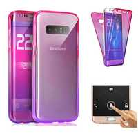 Gradient Color 360° Full Protective TPU Case for Samsung Galaxy Note 8