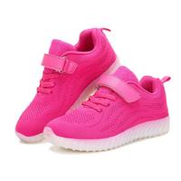 Kids Light Up LED Sport Shoes Girls Boys Mesh sneakers Flash Shoes