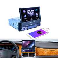 7158G 7 Inch GPS High Digital bluetooth Touch Screen Car MP5 Player FM USB with Real Camera