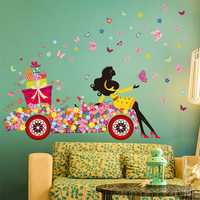 Child Room Decoration DIY Wall Sticker Wallpaper Butterfly Girl Removable Art Decal Home Mural