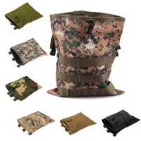 Molle Outdoor Large Fishing Bags Recycle Pouch Travel Storage Bags
