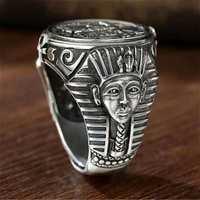 New Vintage Horus Anubis Wanderer Ring