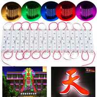 20PCS SMD5050 6LED Module Fairy Strip Waterproof Sign Design DIY Light DC12V