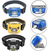 BIKIGHT 1000LM Cycling Bike Headlamp USB Rechargeable Sensor High Bright Bicycle Running Fishing Headlight