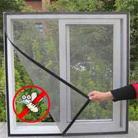 10pcs Fly Bug Insect Curtain Mesh Bug Mosquito Door Window Sticky Netting Wire Mesh Screen Protectors