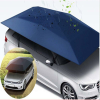 400*210cm 210D Oxford Cloth Car Shelter Umbrella Tent Roof Shade Cover Cloth Roof Waterproof Anti UV