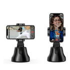 Discount pas cher Smart Shooting Camera Phone Holder Auto Face Tracking Intelligent Gimbal Object Tracking Selfie Stick 360 Degree Rotation Phone Stabilizer
