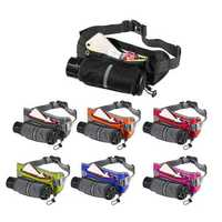 Outdoor Waist Bag Phone Bag With Water Bottle Holder For Hiking Running Jogging