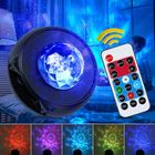 Meilleurs prix Infrared Type LED Starry Sky Night Light bluetooth Music Water Wave Projector With Remote Control USB Powered Sound-Activated Stage Laser Star Projection Lamp 5V/3W
