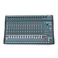 EL M MX1608-USB 16 Channel 1000W DJ KTV Karaoke Mixer USB Mixing Console Amplifier