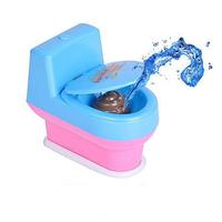 Mini Prank Squirt Spray Water Toilet Closestool Joke Gag Toy Surprise Gift
