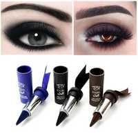 MusicFlower Eyeliner Stick Black Gel Pencil Blue Waterproof