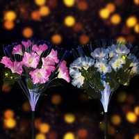 10 LED Solar Power Light Flower Landscape Lamp for Garden Yard