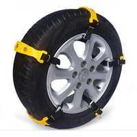 10pcs Car Tire Snow Chains Beef Tendon VAN Wheel Tyre Anti Skid TPU Chains Set