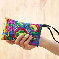 National Style Fashion Embroidery Bag Purse Clutch Bag