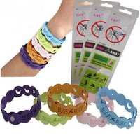 Mosquito Repellent Bracelet 10 Days of Protection Pest Insect Control Wrist Band for Kids