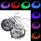 Discount pas cher 5M 57.5W DC 12V Waterproof IP67 WS2811 300 SMD 5050 LED RGB Changeable Flexible Strip Light