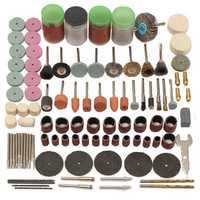 161pcs Mini Drill Multi Rotary Tool Accessories Set Grinding Polishing Abrasive Tool Kits for Dremel