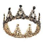 Acheter au meilleur prix Bridal Crown Wedding Full Rhinestone Round Tiara Headpiece