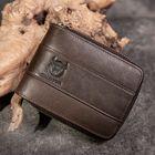 Recommandé Bullcaptain RFID Antimagnetic Vintage Genuine Leather 11 Card Slots Coin Bag Wallet For Men