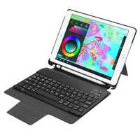 Detachable bluetooth Keyboard Kickstand Case For New iPad 9.7 Inch 2017/iPad 9.7 Inch 2018