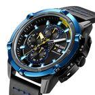 Les plus populaires MEGIR 2062 Men Watch Sport Creative Chronograph Luminous Male Quartz Wrist Watch