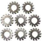 Meilleurs prix 8pcs Module 1 PA20 Bore 22mm #1-8 HSS Involute Gear Milling Cutter