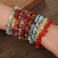 Natural Crystal Gravel Bracelet
