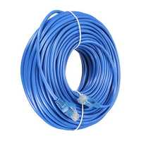 30m Blue Cat5 RJ45 Ethernet Cable For Cat5e Cat5 RJ45 Internet Network LAN Cable Connector