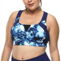 3XL Drying Quick Wireless Vest Sports Bra
