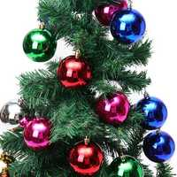 24PCS Merry Christmas Tree Decoration Xmas Balls Ornaments Party Wedding Gift