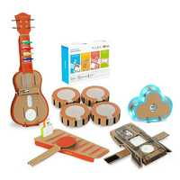 6 In 1 Makeblock STEAM RC Robot Toys Educational Gift Drum Ukulele Bracelet Cloud Xylophone