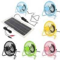 4 Inch 360 Degree Adjustable Black Metal Mini USB Summer Cool Cooling Fan Color Optional for Desktop